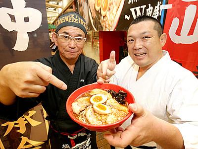 麺家いろは・えびすこタッグで 東京ラーメンショー参戦