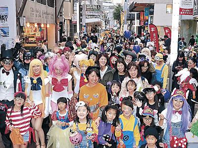 仮想パレード、倍増の800人 2回目かなざわハロウィン