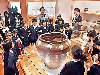 越前陶芸村で古窯博物館が開館 越前焼と茶、融合して発信