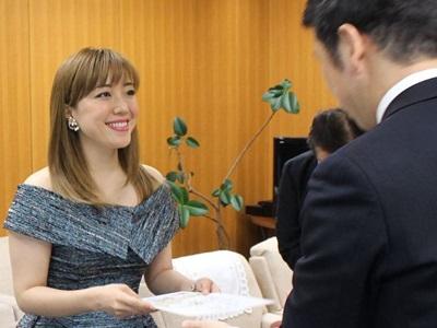 平原綾香さん「にいがた観光特使」就任