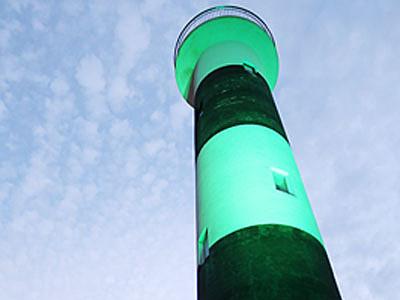 黒部の生地鼻灯台、3日からライトアップ
