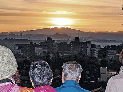 3分間の絶景 白山から日の出