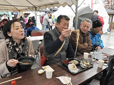 新そばいろいろ 食べ比べ 松本・安曇野でイベント