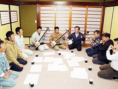 花のお江戸で庵唄披露へ 城端東下町「宝槌会」