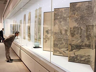 隠れた名品お出迎え 日本画など 11日から新津美術館