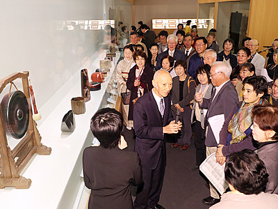 「日本のわざと美展」開幕 富山県水墨美術館