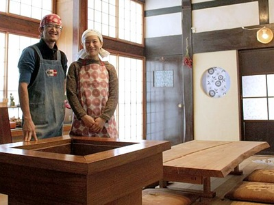 田舎料理、みそ造り体験 移住夫婦が農家民宿開業 上越