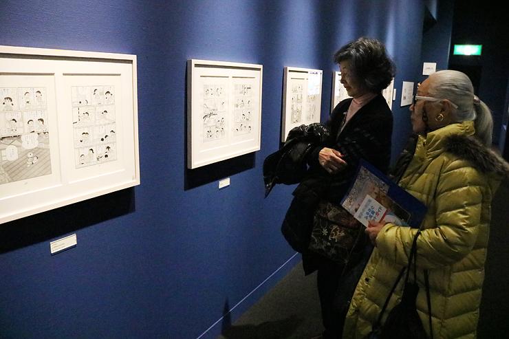 「ドラえもん」のしずかちゃんらにスポットを当てた原画展=藤子・F・不二雄ふるさとギャラリー((C)藤子プロ)