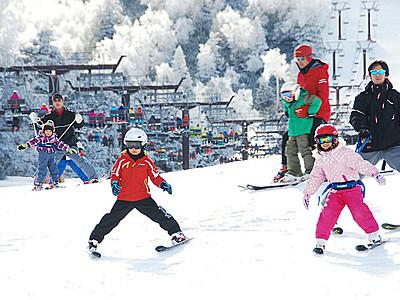 志賀高原「統一初滑り」半世紀 今季の安全を祈願
