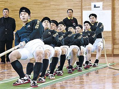 金沢レスキュー隊4連覇 県綱引選手権