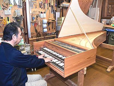「八ケ岳チェンバロ」輝く音色 南牧の音楽堂30年