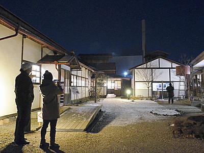 古い建造物際立つ魅力 松本の「歴史の里」でナイトミュージアム