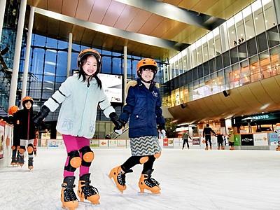 今冬も街中で滑ろう 福井ハピリンクがオープン