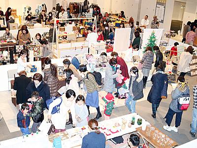 感性光る手作り品 富山で手芸&クラフトフェア