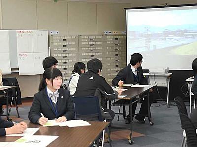 地域鉄道、高校生がPR動画 県教委としな鉄、コンテスト