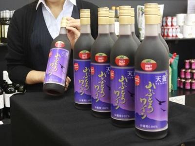 口に広がる高根の恵み ヤマブドウワイン発売 村上