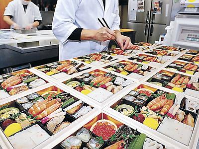 新年の飛躍、重箱に込め 金沢の料理店など、おせちの準備ピーク