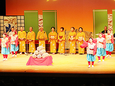 新春彩る民謡華やか 富山で祭典