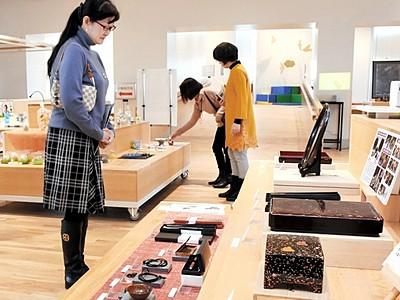 若狭の伝統工芸、見て知って サンドーム福井で展示会