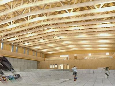 村上市 スケートパーク1月内着工 国際大会可能な設備も