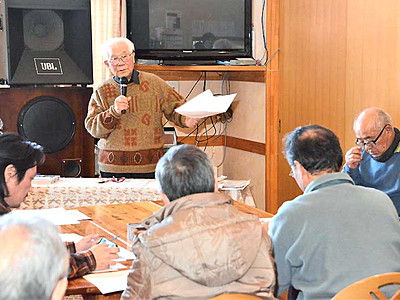 善光寺―大町「峰街道」観光の道に 小川で住民組織結成へ
