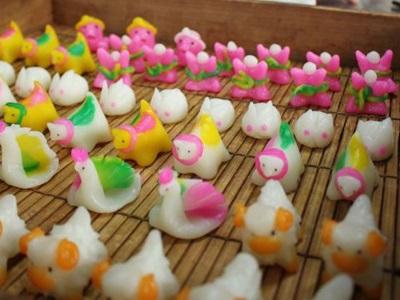 ちんころ作り丹精込め 上越・吉川の菓子店で最盛期