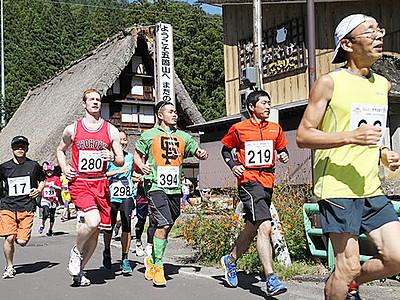 南砺で100キロマラソン 6月3日