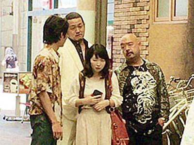 劇団の枠超え映画「まちむすび」 富山の商店街製作