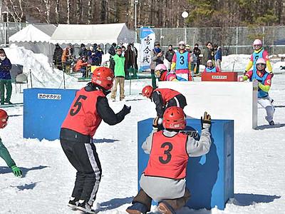 立科でいざ「雪合戦」 2月18日の参加チーム募集