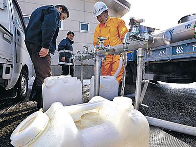 能登断水、1万世帯超 空き家で漏水、気付かず被害拡大か