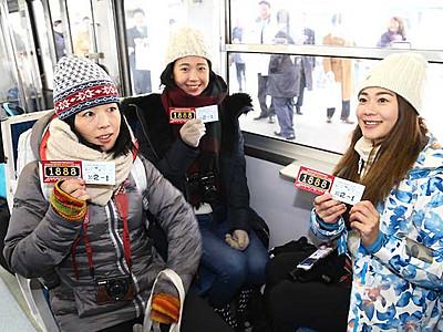 しなの鉄道、外国人向けパス発売 乗り降り自由「すごい便利」