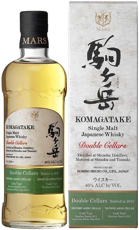 本坊酒造が発売した「シングルモルト駒ケ岳ダブルセラーズ」