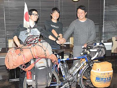 サイクリングで誘客を 諏訪湖・八ケ岳舞台「協議会」設立