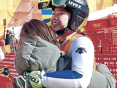 石川晴菜33位 「積極的にいけた」、スキー女子大回転