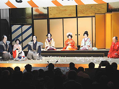 中尾歌舞伎、4月に再開 伊那市長谷で1年半ぶり公演