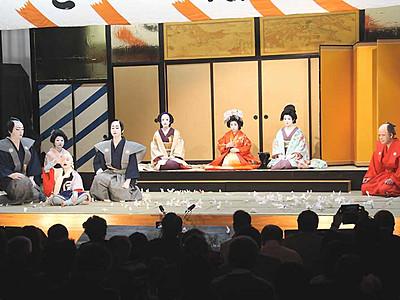中尾歌舞伎、4月に再開 伊那市長谷で1年半ぶり公演