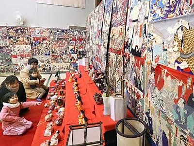 浮世絵鮮やか江戸の風情 小千谷でひいな祭り