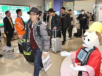 格安ピーチ新潟県初就航 新潟-大阪 空港活性化に期待