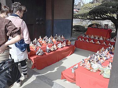 東御・海野宿で「ひな祭り」 25日まで