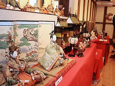 港町物語るひな人形 新潟市内21カ所で展示