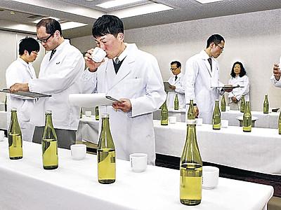 新酒「華やかな香り」 白山酒造組合きき酒会