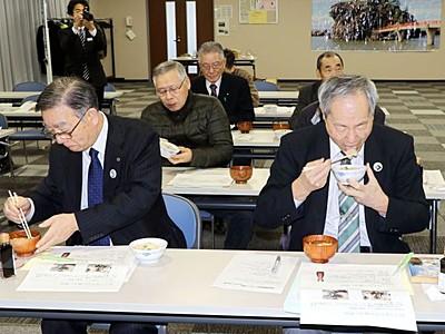 甘エビのうま味凝縮 能生商工会が魚醤発売 糸魚川