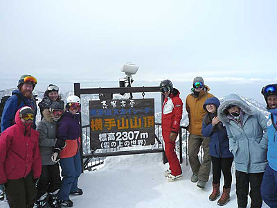 海外旅行会社8人、志賀高原を体験 山ノ内町などが招く