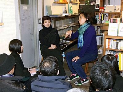 安吾作品写真と共演 野村佐紀子さん4月展覧会