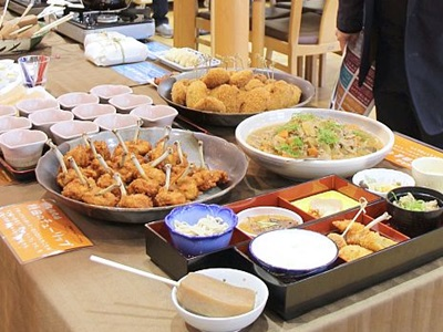 下田豚など名物料理、御膳で提供 4月から 三条・下田