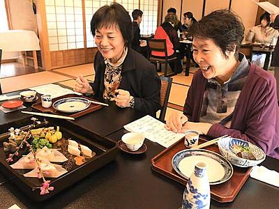 江戸時代のひなの節句料理 須坂・田中本家博物館で再現
