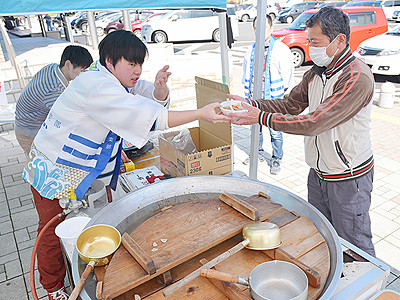地元食材で魚津発信 富山大が中日本高速と連携