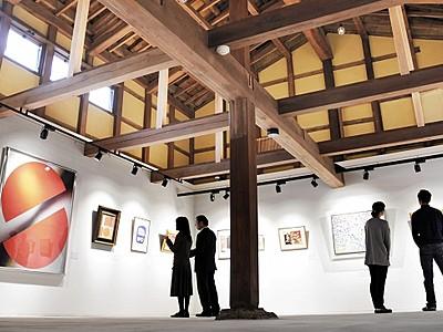 古民家ギャラリー21日開館 築130年以上、大野市