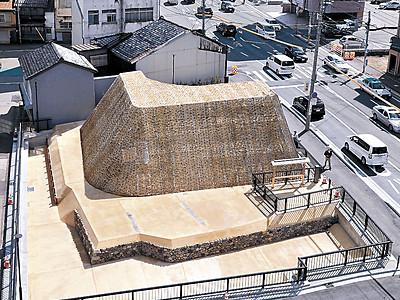 升形威容 金沢・本町 西外惣構の遺構を復元