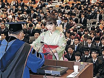 金沢大学の2464人が卒業